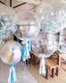 Orbz Balloon Silver-Palm & Pine Party Co.