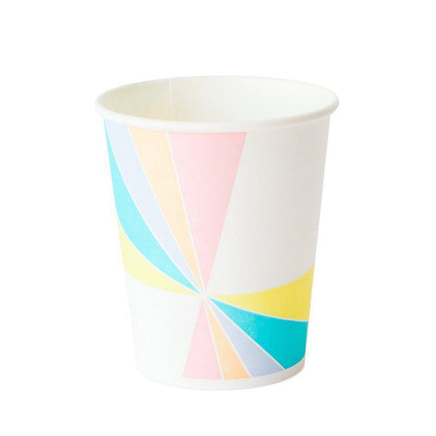 Pastel Party Cups-Palm & Pine Party Co.