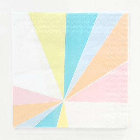 Pastel Party Napkins-Palm & Pine Party Co.