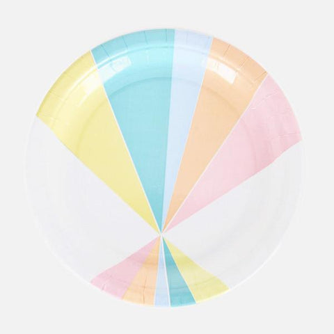 Pastel Party Plates-Palm & Pine Party Co.