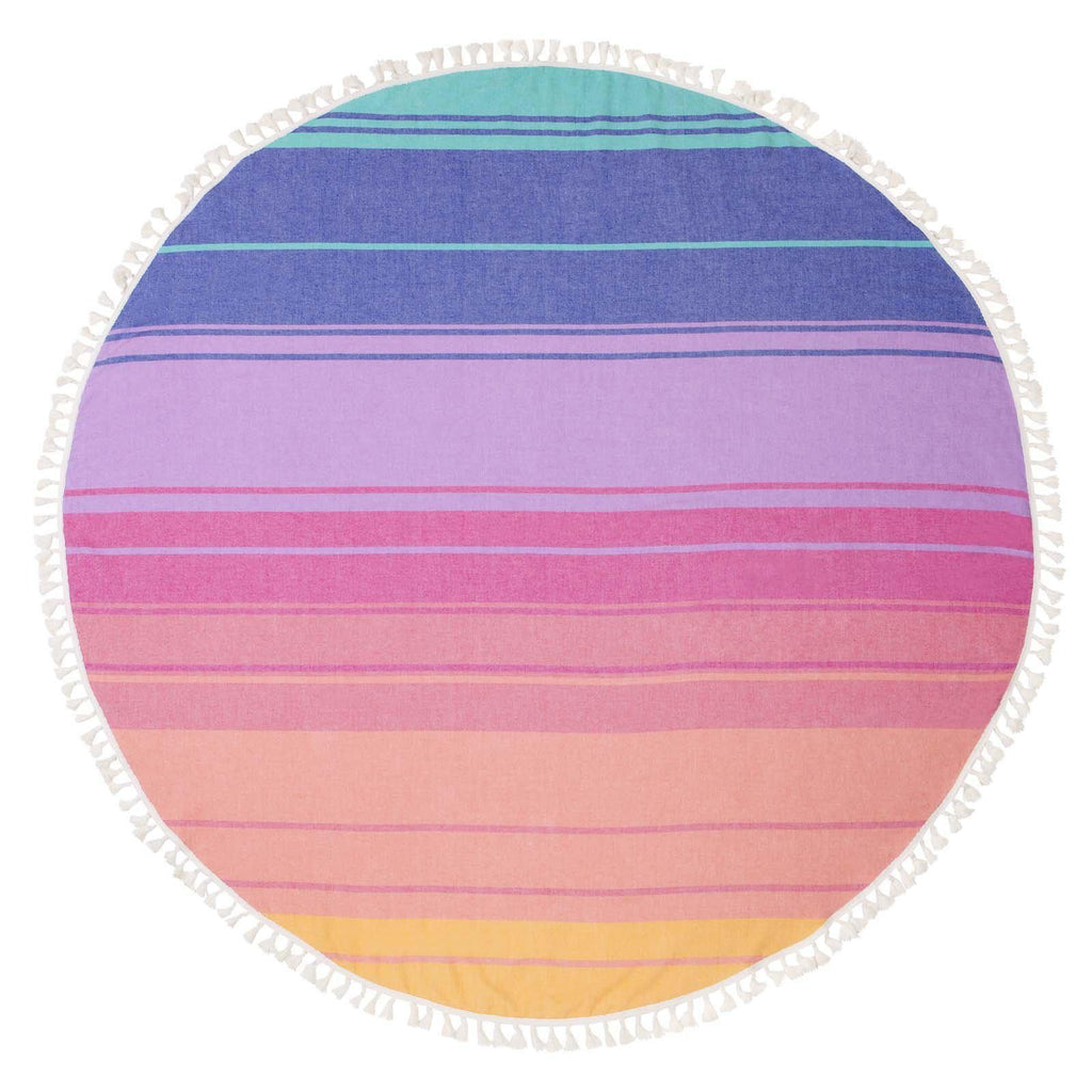 Round Fouta Towel Navagio-Palm & Pine Party Co.