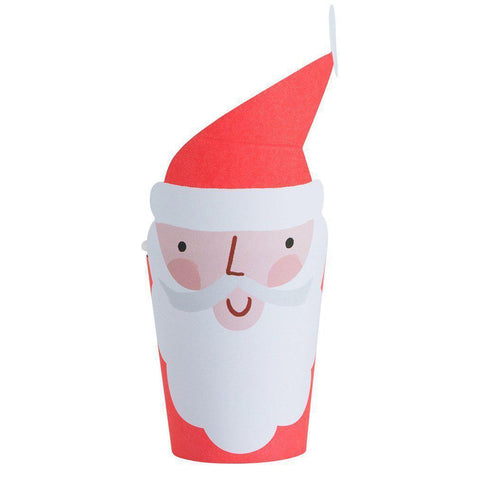 Santa Cups-Palm & Pine Party Co.