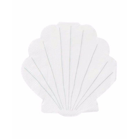 Shell Party Napkins (small)-Palm & Pine Party Co.