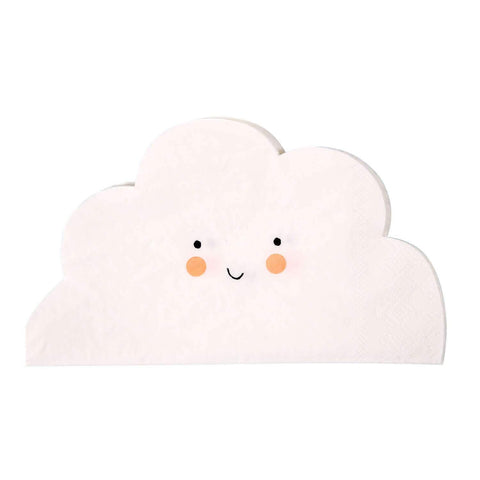 Smiley Cloud Napkins-Palm & Pine Party Co.