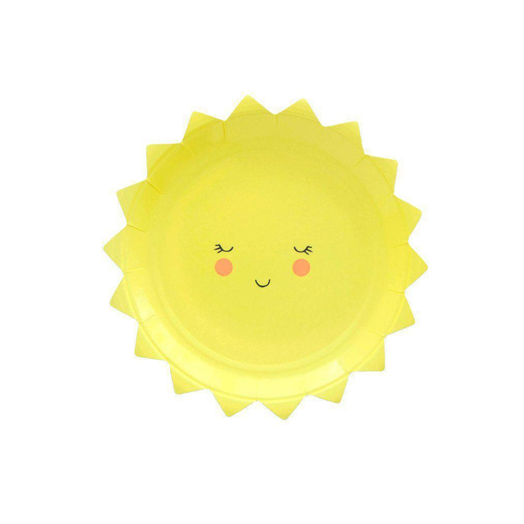 Smiley Sun Party Plates-Palm & Pine Party Co.