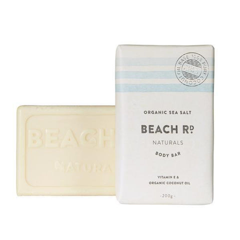 Organic Sea Salt Body Bar (200g)-Palm & Pine Party Co.