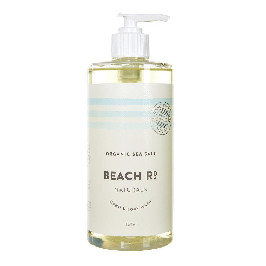 Organic Sea Salt Hand & Body Wash (500ml)-Palm & Pine Party Co.