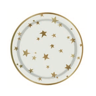 Star Snack Plates-Palm & Pine