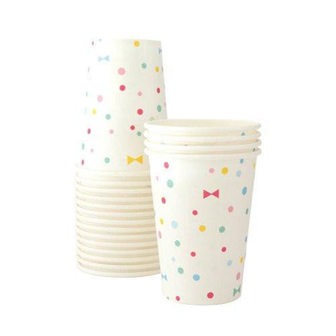 Summer Bows Paper Party Cups-Palm & Pine Party Co.