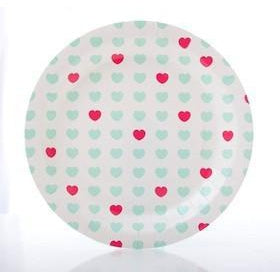 Sweetheart Plates-Palm & Pine Party Co.