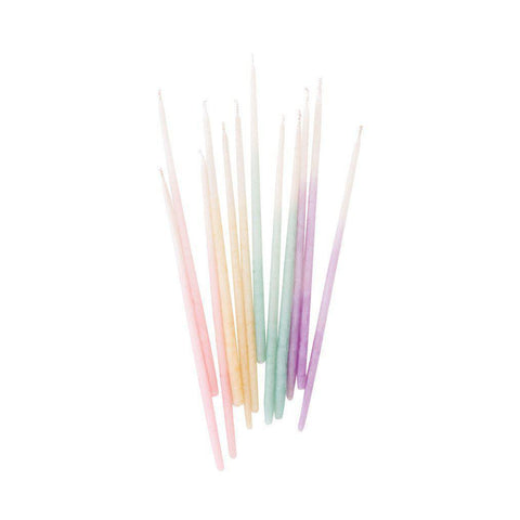 Tall Birthday Candles (Pastel Ombre)-Palm & Pine Party Co.