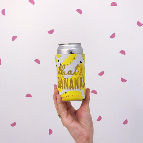 That's Bananas Can Cooler-Palm & Pine Party Co.