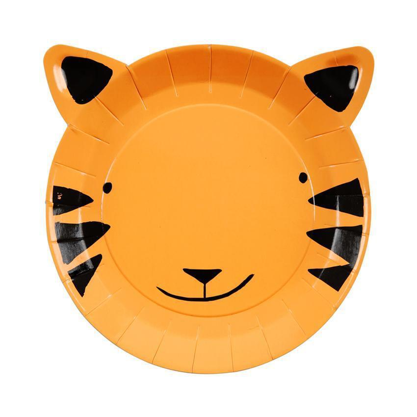 Tiger Plates-Palm & Pine Party Co.