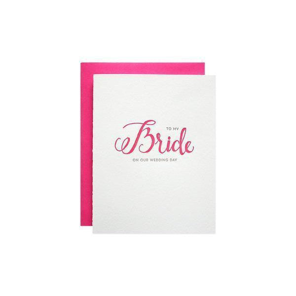 To My Bride Card-Palm & Pine Party Co.