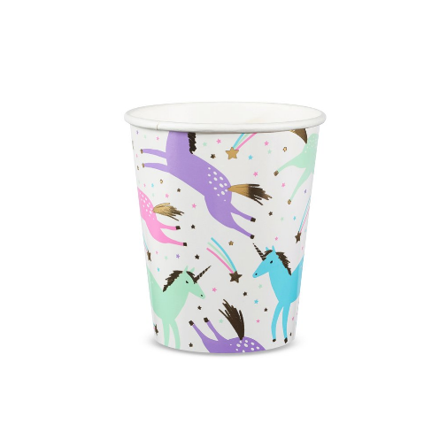 Unicorn Cups-Palm & Pine Party Co.