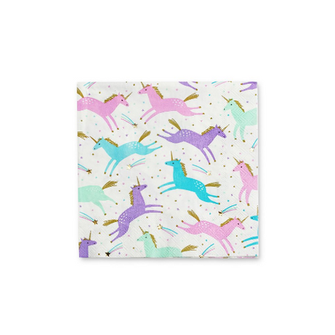 Unicorn Napkins-Palm & Pine Party Co.
