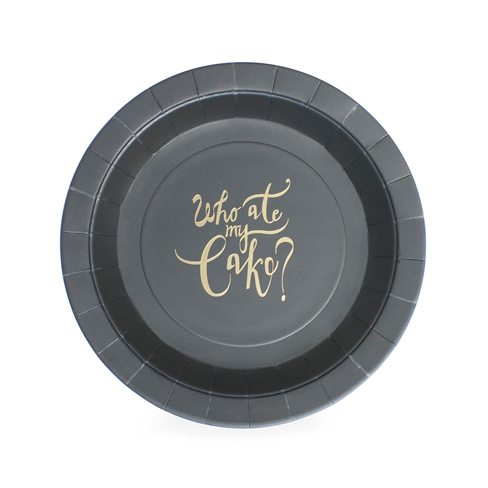 Who Ate My Cake Plate-Palm & Pine Party Co.