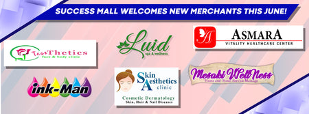 OUR NEW MERCHANTS FOR THE MONTH OF JUNE! | Success Mall
