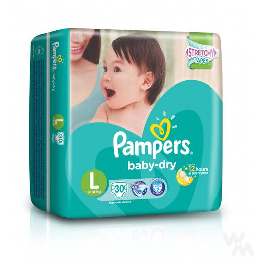 <p>Rebate Points = 0.20  <br /></p> PAMPERS BABY DRY LARGE 30S - successmall