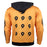 2017 New Anime Naruto Hoodies Naruto Uzumaki cosplay Costume Harajuku cartoon Sweatshirts Akatsuki Zipper Jacket