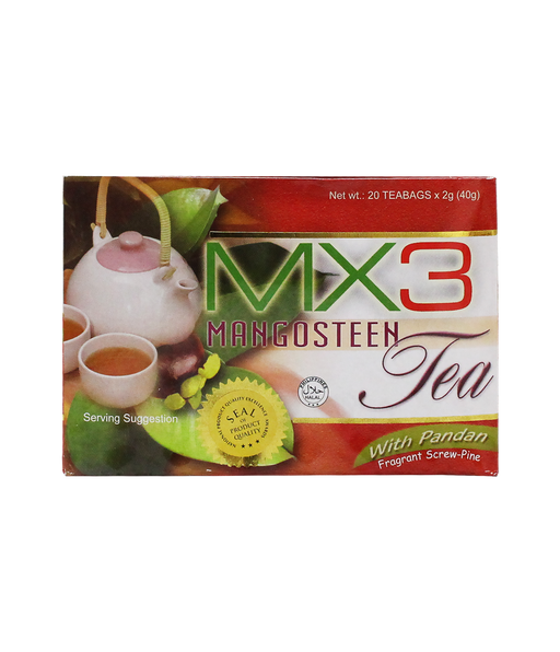 <p>Rebate Points = 0.56<br/></p>MX3 Tea, A box of 20 sachets - successmall