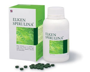 <p>Rebate Points = 1.30<br/></p>SPIRULINA 100 chewable tablet by Elken International - successmall