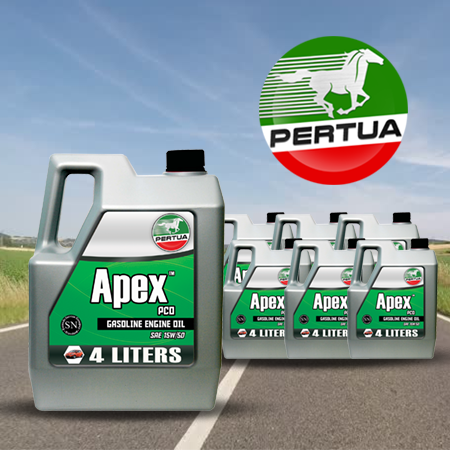 <p>Rebate Points = 4.08<br/></p>Apex PCO 15w/50 - 6x4L (Gallon) - successmall