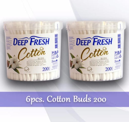 <p>Rebate Points = .77<br/></p>Deep Fresh Cotton Buds 200 - successmall