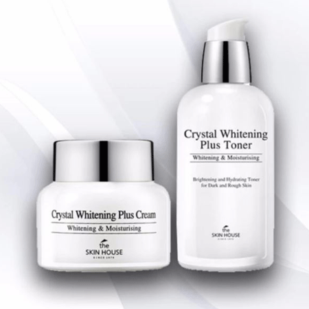 <p>Rebate Points = <br/></p>Crystal Whitening Cream & Toner