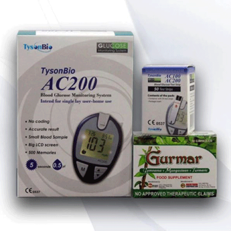<p>Rebate Points = <br/></p>Diabetic Package