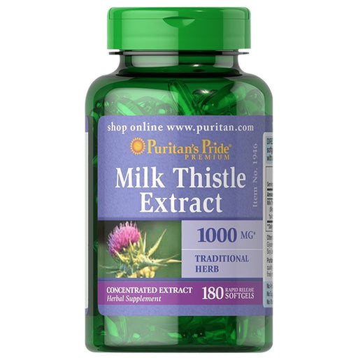 <p>Rebate Points = 4<br/></p>Milk Thistle Extract 1000 mg (Silymarine) - successmall