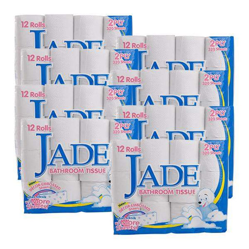 <p>Rebate Points= .37<br/></p>Jade BT 2Ply 12s 320 Sheets