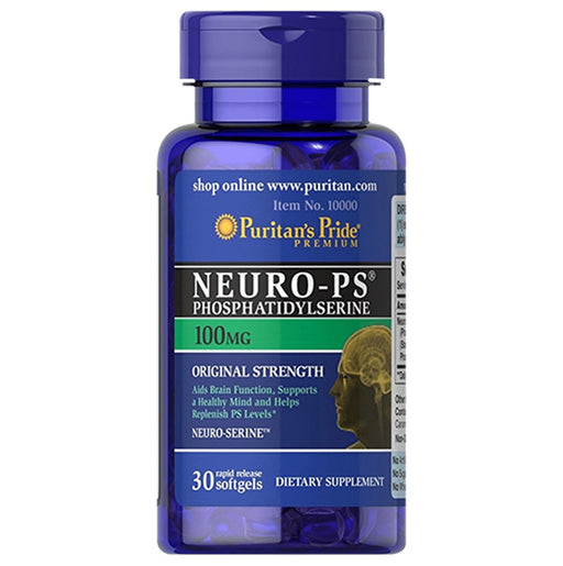 <p>Rebate Points = 4.8<br/></p>Neuro-PS (Phosphatidylserine) 100 mg - successmall
