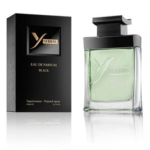 <p>Rebate Points = 9.83<br/></p>Yserras Eau de Parfum Homme Black 100mL