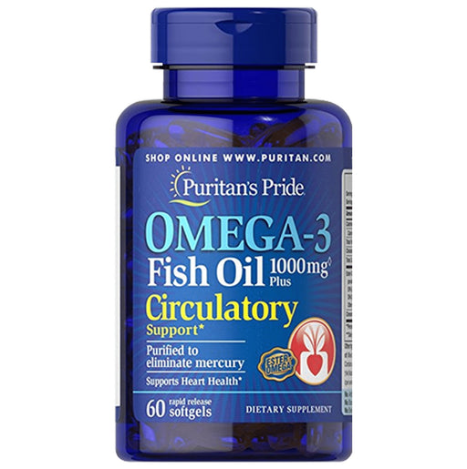 <p>Rebate Points = 2.67<br/></p>Omega-3 Fish Oil Plus Circulatory Support - successmall