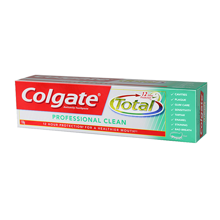 <p>Rebate Points = 0.02</p>Colgate Total Professional Clean Toothpaste 150g - successmall