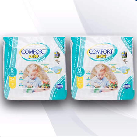 <p>Rebate Points = 1.59<br/></p>Comfort Love Baby Diaper (Extra Large) - successmall