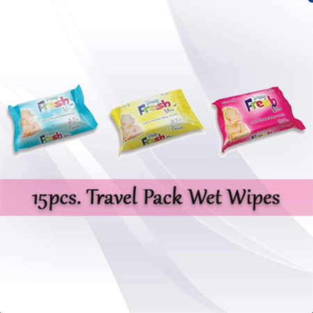 <p>Rebate Points = 1.03<br/></p>Deep Fresh Mini Baby Wet Towel Travel Pack - successmall