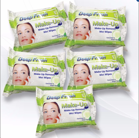 <p>Rebate Points = .71<br/></p>Deep Fresh Make-Up Remover Wet Wipes - successmall