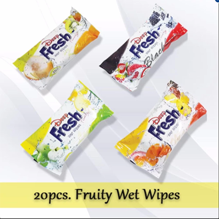 <p>Rebate Points = .72<br/></p>Deep Fresh Pocket Wet Wipes (Fruits) - successmall