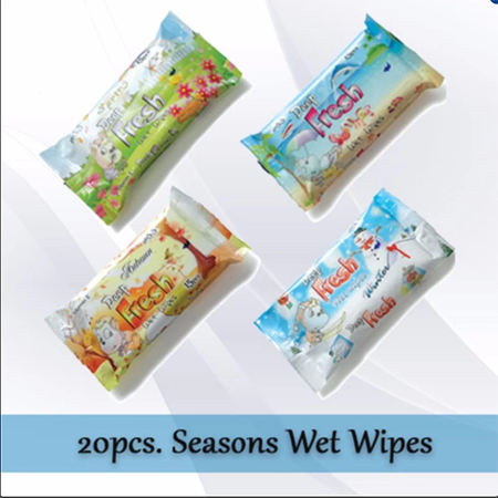 <p>Rebate Points = .72<br/></p>Deep Fresh Pocket Wet Wipes (Seasons) - successmall