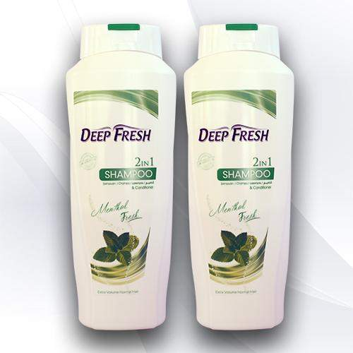 <p>Rebate Points = 1.24<br/></p>Deep Fresh 2-in-1 Shampoo Menthol