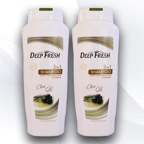 <p>Rebate Points = 1.23<br/></p>Deep Fresh 2-in-1 Shampoo Olive Oil