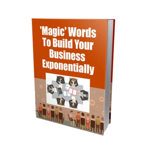 <p>Rebate Points = .38<br/></p>MAGIC WORDS TO BUILD YOUR BUSINESS EXPONENTIALLY - successmall