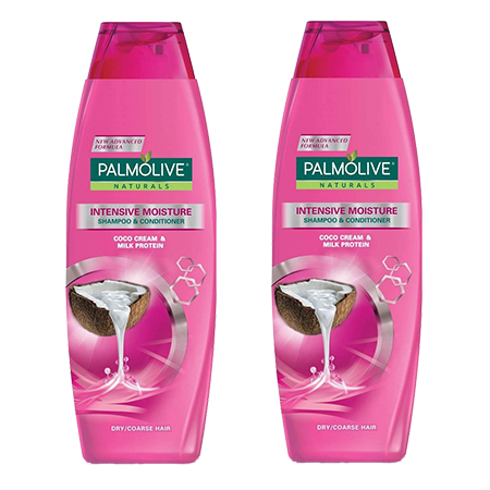 <p>Rebate Points =  0.01</p>Palmolive Naturals Intensive Moisture Shampoo  180ml Pack of 2