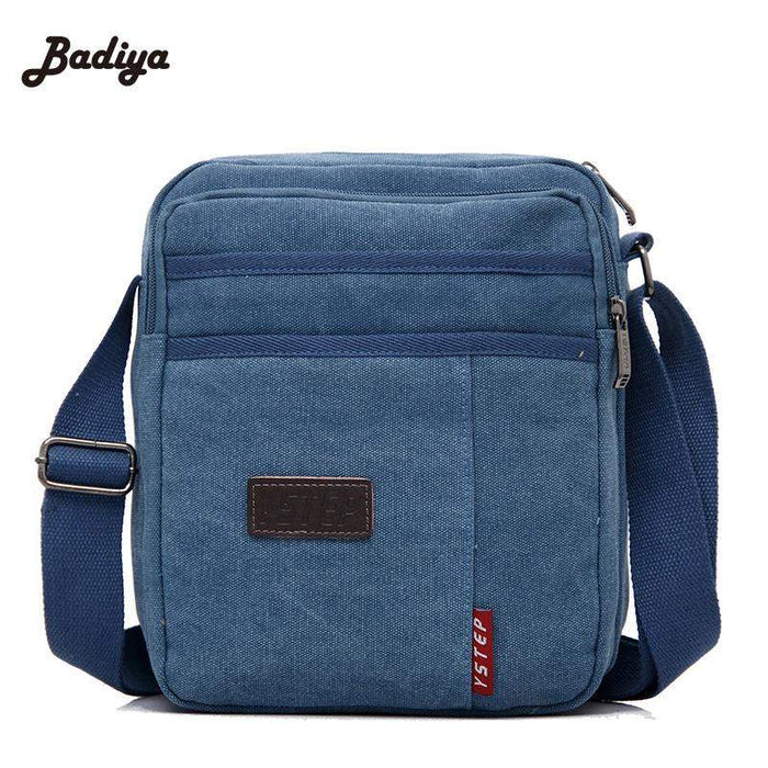 Men's Crossbody Small Sacoche Homme Brand Bag Men Messenger Bags Satchel Man Satchels Bolsos Men's Canvas Travel Shoulder Bags - successmall