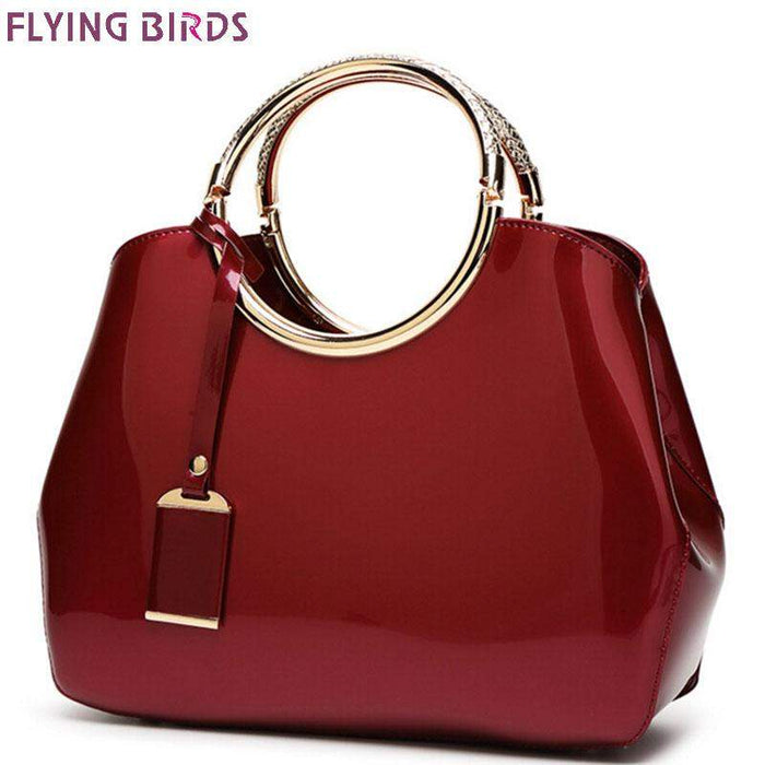 Flying birds! 2016 women leather handbag famous brands women handbag messenger bags ladies fashion shoulder bag bolsos LS8901fb - successmall