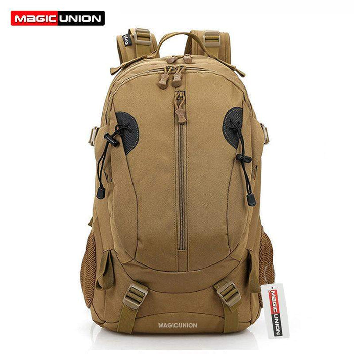 MAGIC UNION Men and Women Unisex Military Backpack Canvas Bag Trekking Rucksacks 40L Backpacks Men Backpacks Men Bags Fashion