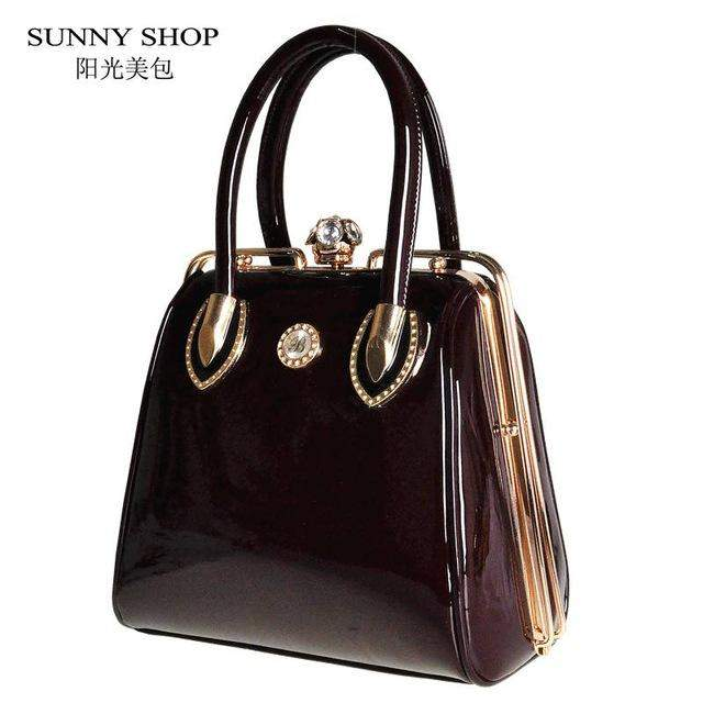 SUNNY SHOP Fashion Skull Diamonds Women Bag Crystal Ladies Evening Bag Bride Tote Bag Women Wedding Handbag Brand Designer - successmall