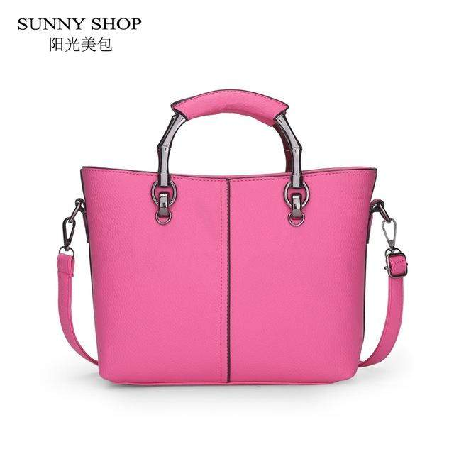 SUNNY SHOP Brand Designer Handbags High Quality Women Bag Women Leather Handbags Fashion Handbags Shoulder Bags - successmall
